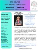 2019-10-October-Newsletter