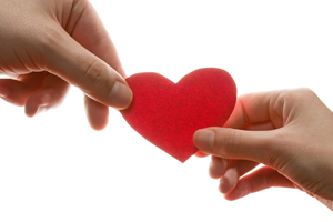 Donate - Giving from the heart
